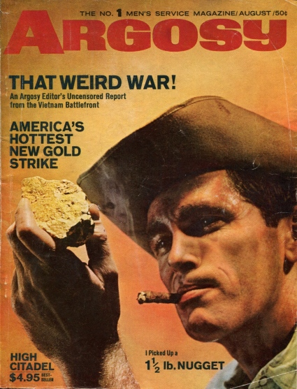 Argosy Men's Service Magazine - Desmond Bagley High Citadel