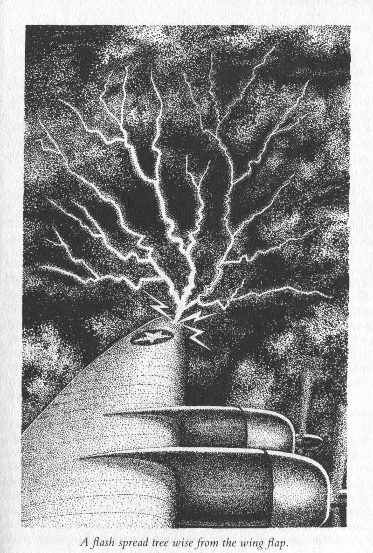 The Eye of the Hurricane - Trevor Newton Illustration