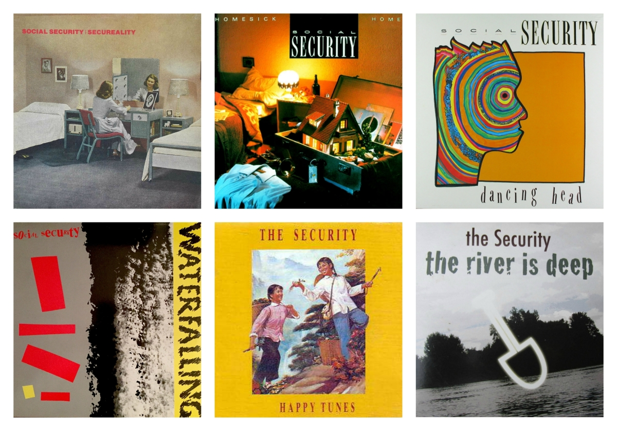 Social Security - The Security Album Collage