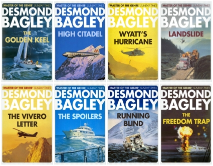 Desmond Bagley 2017 Harper Collins Crime Club re-issues