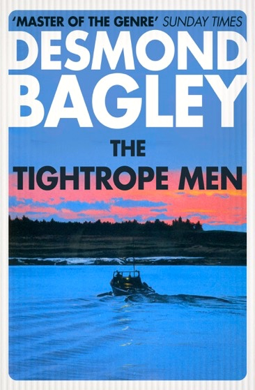 Desmond Bagley 2017 re-issues - The Tightrope Men cover