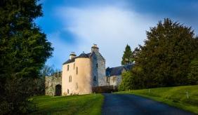Desmond Bagley Running Blind - Duchray Castle, Aberfoyle, Scotland © Duchray Castle