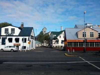 Desmond Bagley Running Blind - Skolabru, Reykjavík © The Bagley Brief