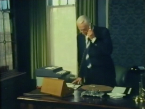 Desmond Bagley Running Blind - Taggart's office © BBC Scotland