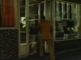 Desmond Bagley Running Blind - Hresso, Austurstræti, Reykjavík © BBC Scotland