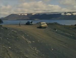 Desmond Bagley's Running Blind - Kleifarvatn, Reykjanes peninsular © BBC Scotland