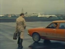Desmond Bagley Running Blind - Reykjavik city airport © BBC Scotland