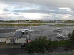 Desmond Bagley Running Blind - Reykjavik city airport © The Bagley Brief