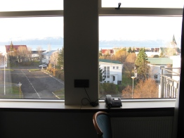 Desmond Bagley Running Blind - Fosshotel Husavik Room 401 - Nov 2015 © The Bagley Brief