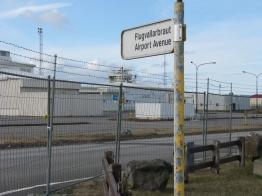 Desmond Bagley Running Blind - Keflavik Airport Passenger Terminal © The Bagley Brief