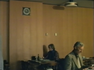 Desmond Bagley Running Blind - Hotel Loftleidir Reykjavik © BBC Scotland
