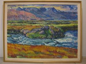 Desmond Bagley Running Blind - Sigurdur Hallmarsson - River Laxa - Nov 2015 © The Bagley Brief