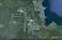 Desmond Bagley Running Blind - Keflavik Airport Passenger Terminal © 2013 Google