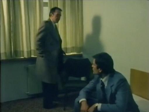 Desmond Bagley Running Blind - Hotel Husavik Room 304 - June 1978 © BBC Scotland