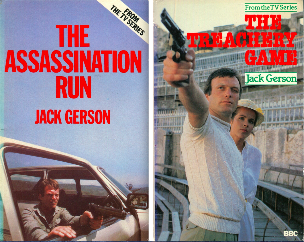 The Assassination Run and The Treachery Game - Jack Gerson - Images © BBC Books.
