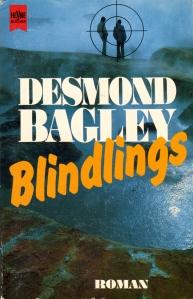 Desmond Bagley Running Blind - German Roman-Wilhelm Heyne Verlag PB Imp. 1993