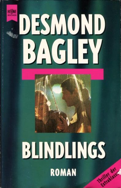 Desmond Bagley Running Blind - German Roman-Wilhelm Heyne Verlag PB Imp. 1995