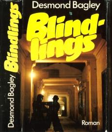 Desmond Bagley Running Blind - German Roman-Verlag Buch und Welt Ed. 1976