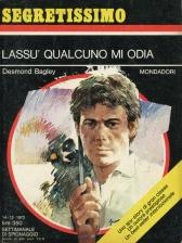 Desmond Bagley Running Blind - Italian Mondadori PB Imp. 1972 © Mondadori.