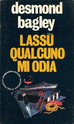 Desmond Bagley Running Blind - Italian Mondadori PB Imp. 1982 © Mondadori.