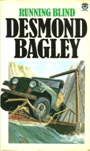 Desmond Bagley Running Blind - UK Fontana Collins 18th PB Imp. 1978