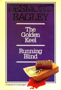 Desmond Bagley Running Blind - UK Chancellor Press 2-in-1 Ed. 1983