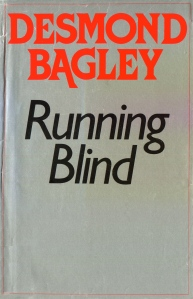 Desmond Bagley Running Blind - UK Collins Reprint Ed. 1985