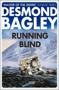 Desmond Bagley Running Blind - Harper Collins Crime Club PB Imp. 2017