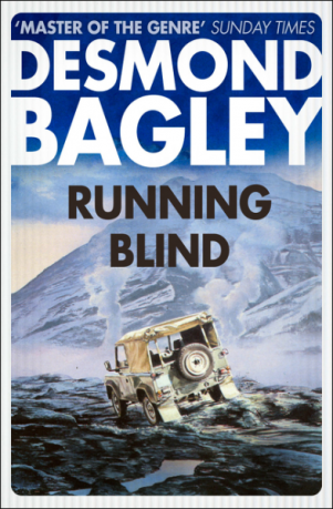 Desmond Bagley Running Blind - Harper Collins Crime Club PB Imp. 2017