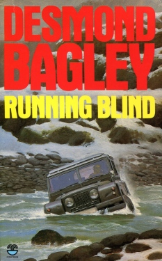 Desmond Bagley Running Blind - UK Fontana Collins 25th PB Imp. 1988