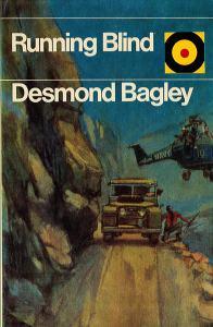 Desmond Bagley Running Blind - UK Hutchinson & Co Ltd Bulls-Eye PB Imp. 1975