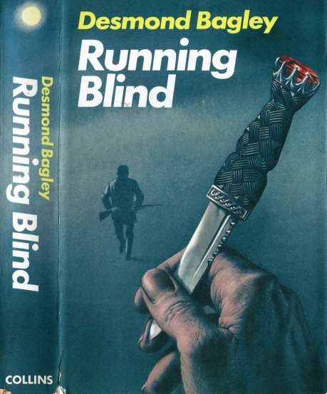 Desmond Bagley Running Blind - UK Collins First Ed. 1970