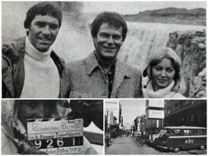Desmond Bagley's Running Blind - Filming in Iceland