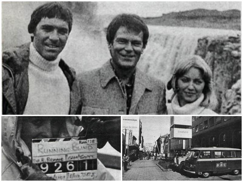 Desmond Bagley Running Blind - Filming in Iceland