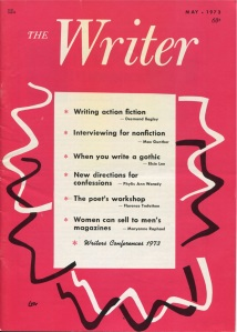 Desmond Bagley on Writing action fiction - The Writer- May 1973