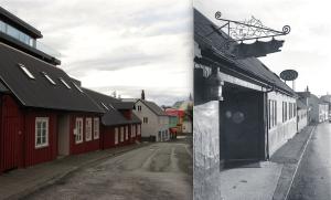 Desmond Bagley Running Blind Restaurant Naust Reykjavik
