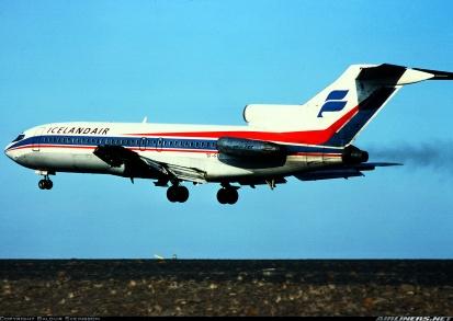 Desmond Bagley Running Blind TF-FLG Boeing 727-185C © Baldur Sveinsson