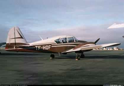 Desmond Bagley Running Blind TF-HOF Piper PA-23-160 apache © Baldur Sveinsson