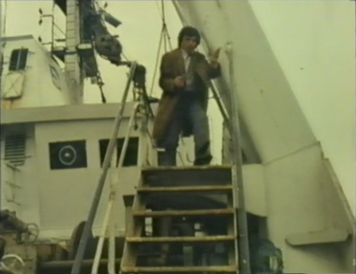 Desmond Bagley Running Blind - Unidentified Polish Trawler © BBC Scotland