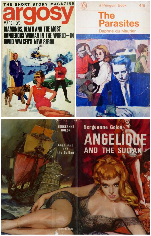 Renato Fratini book covers - © IPC Media, © Penguin Random House: Heinemann
