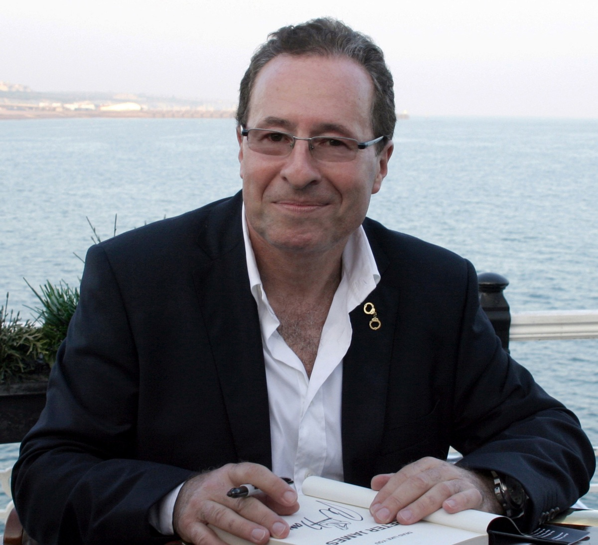 Speaking of Desmond Bagley: An Interview with author Peter James. image © Peter James.