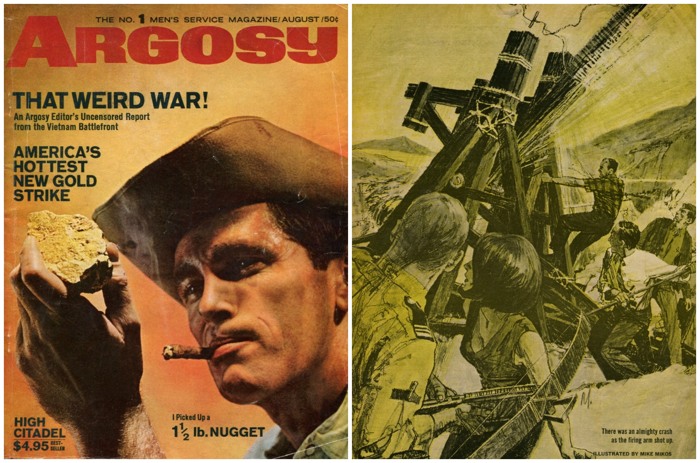 Argosy Men's Magazine - August 1965 © 1965, 2016 Steeger Properties, LLC. All rights reserved.