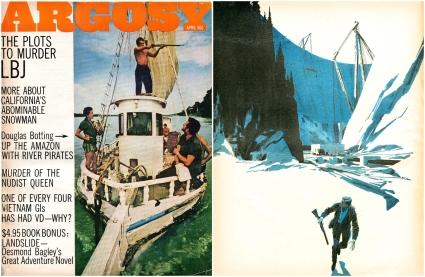 Argosy Men's Magazine - April 1968 © 1968, 2017 Steeger Properties, LLC. All rights reserved.