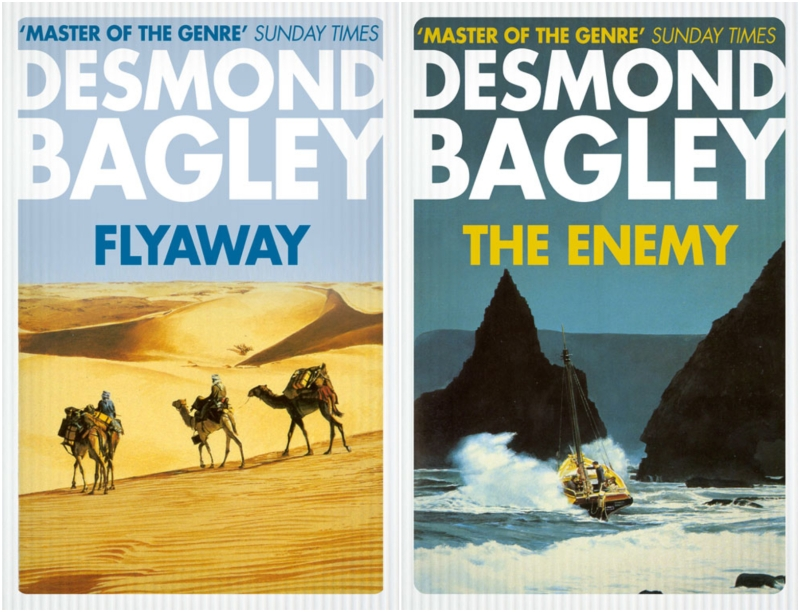 Desmond Bagley's Flyaway and The Enemy - © HarperCollins Publishers Ltd.