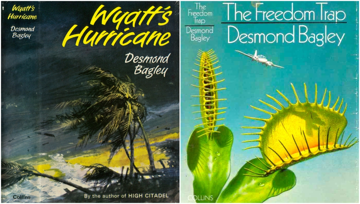 Desmond Bagley's Wyatt's Hurricane and The Freedom Trap - © HarperCollins Publishers Ltd.