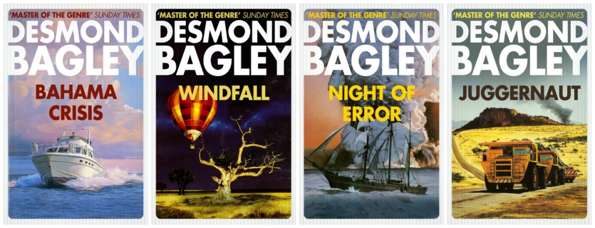 Desmond Bagley - Fourth Quarter 2017 Crime Club Imprints © HarperCollins Publishers Ltd.