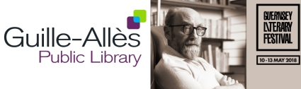 Desmond Bagley talk and exhibition at the Guille-Allès Library as part of the Guernsey Literary Festival 2018 © Graham Jackson, © Guernsey Literary Festival, © Guille-Allès.