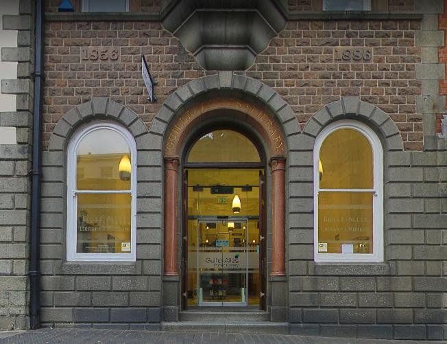 Guille-Allès Library, St Peter Port, Guernsey © Google Images 2017.