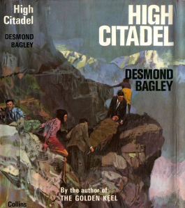 Desmond Bagley - High Citadel 1965 - Cover artist: Pino Dell'Orco © HarperCollins Publishers.