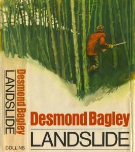 Desmond Bagley - Landslide 1967 - Cover artist: Michel (Michael) Atkinson © HarperCollins Publishers.